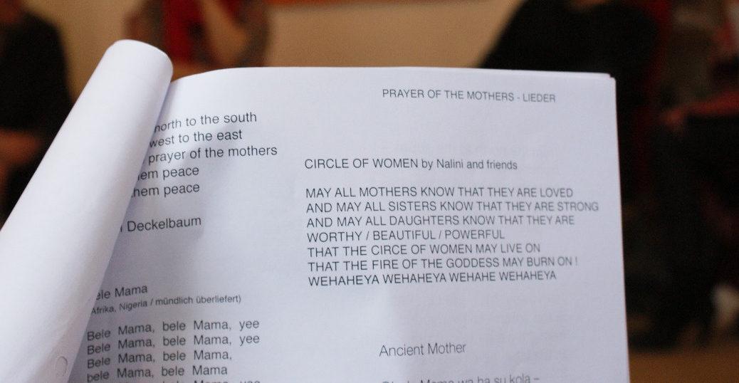 Die Lieder Für Den 24 Juni Prayer Of The Mothers